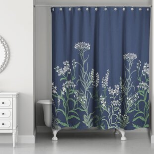 Stall Flowy Vines Single Shower Curtain