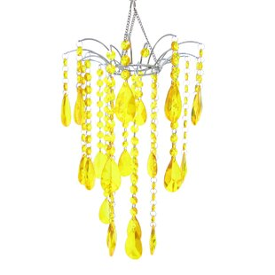 Affordable Horovitz Crystal Bead Chandelier By House of Hampton