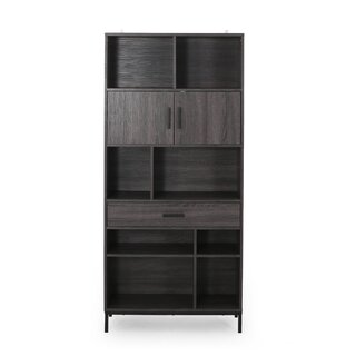 Westmoreland Faux Wood Standard Bookcase by Wrought Studio SKU:CB771785 Guide