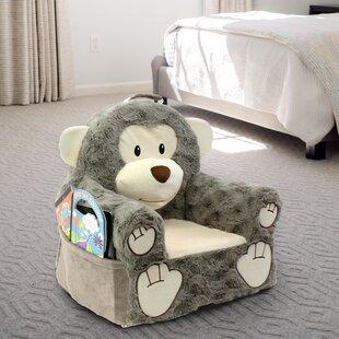 Raymonde Monkey Character Kids Novelty Chair by Harriet Bee