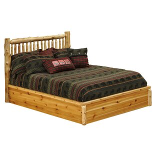 Buy luxury Cedar Platform Bed by Fireside Lodge Reviews (2019) & Buyer's Guide