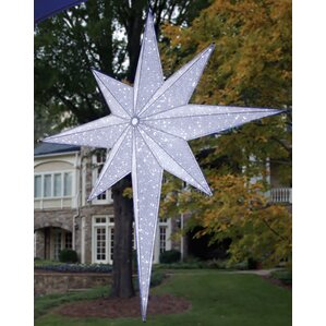 Moravian Star Commercial Hanging Christmas Light Decoration
