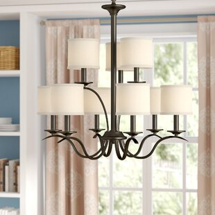 Greenwell 9-Light Shaded Chandelier