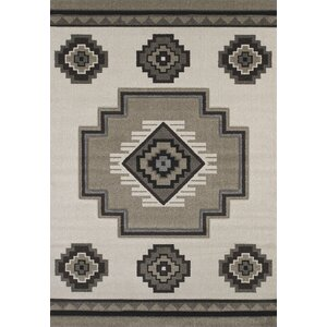 Townshend Cream/Brown Area Rug