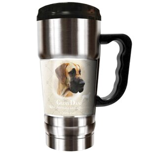Howard Robinson's Great Dane 20 oz. Stainless Steel Travel Tumbler
