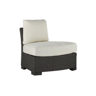 Club Teak Patio Chair with Sunbrella Cushions by Summer Classics