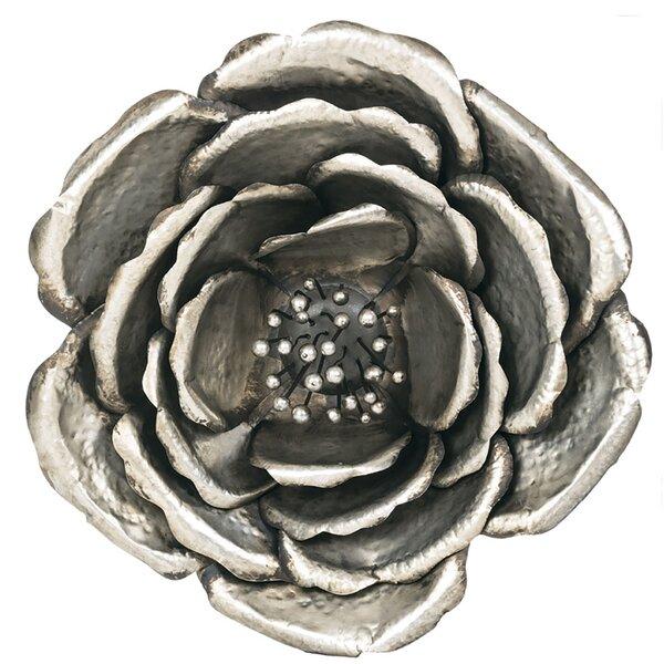 Silver Flower Wall Decor | Wayfair