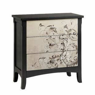 Asdsit 3 Drawer Chest by World Menagerie
