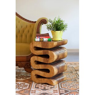 Raylan Wave End Table by U..