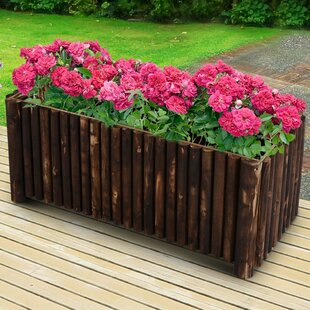 Nectar Wood Planter Box By Sol 72 Outdoor