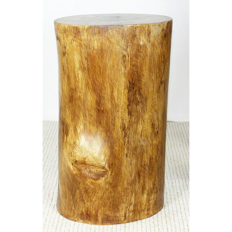 Oak Hill Stump End Table