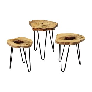 Loon Peak Redwood Foot Stool