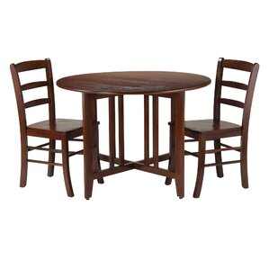Columbia 3 Piece Dining Set by Red Barrel Studio
