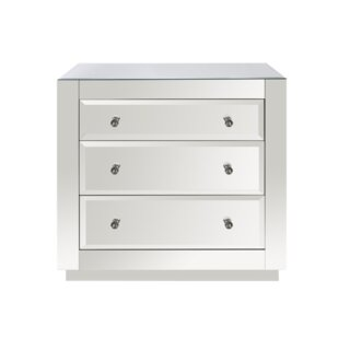 3 Drawer Accent Chest by Worlds Away SKU:BC603486 Information