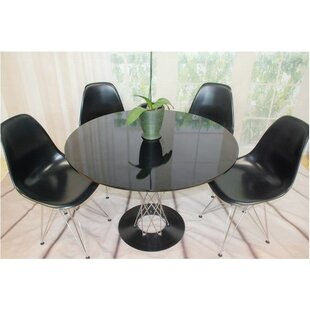 Twist 5 Piece Dining Set by Mod Made Design
