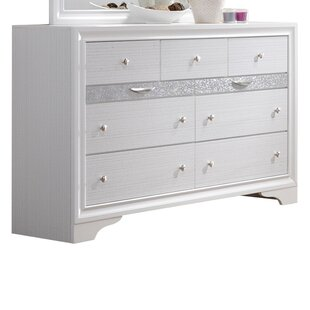 Cecelia 9 Drawer Dresser with Jewelry Drawers