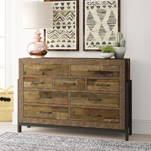 Read Reviews Gino 9 Drawer Dresser by Mistana