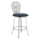 Cherie Bar & Counter Swivel Stool by Armen Living