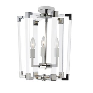 Caenada 3-Light Lantern Pendant by Mercer41