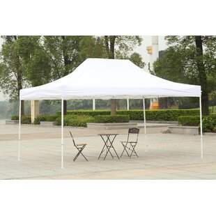 American Phoenix 10 Ft. W x 15 Ft. D Steel Pop-Up Canopy