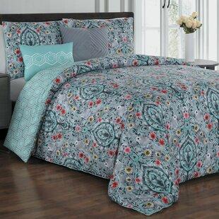 Cia 5 Piece Reversible Comforter Set