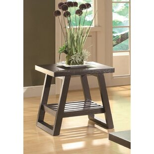 Deals Feist End Table by Ebern Designs