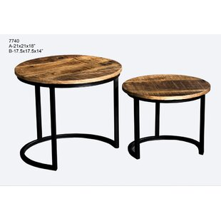 Ouseman 2 Piece Nesting Tables by Gracie Oaks