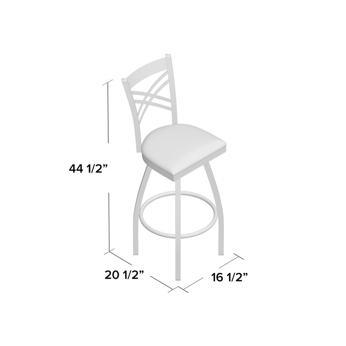 Outstanding Pyron 32 Swivel Bar Stool Gamerscity Chair Design For Home Gamerscityorg
