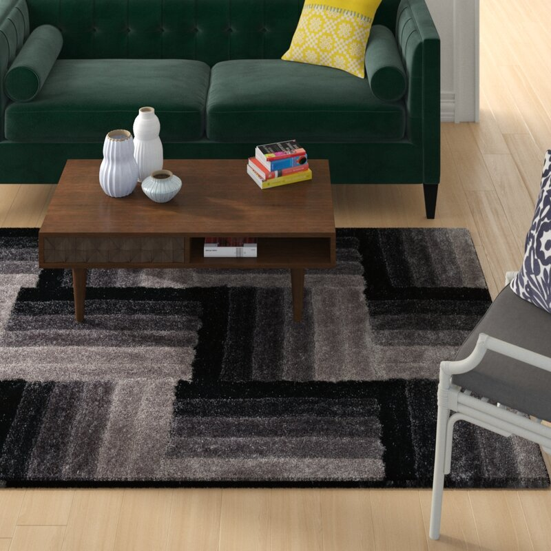 Wrought Studio Fittsblack Area Rug Reviews Wayfair