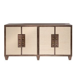 4 Door Accent Cabinet by Worlds Away