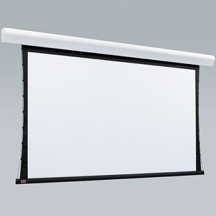 Silhouette Series V White Electric Projection Screen