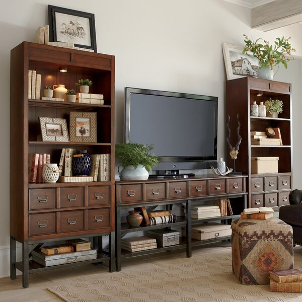 Birch Lane™ Danforth Entertainment Center & Reviews | Wayfair