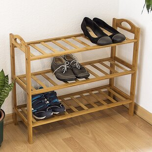 3 Compartment Shoe Rack By Brambly Cottage