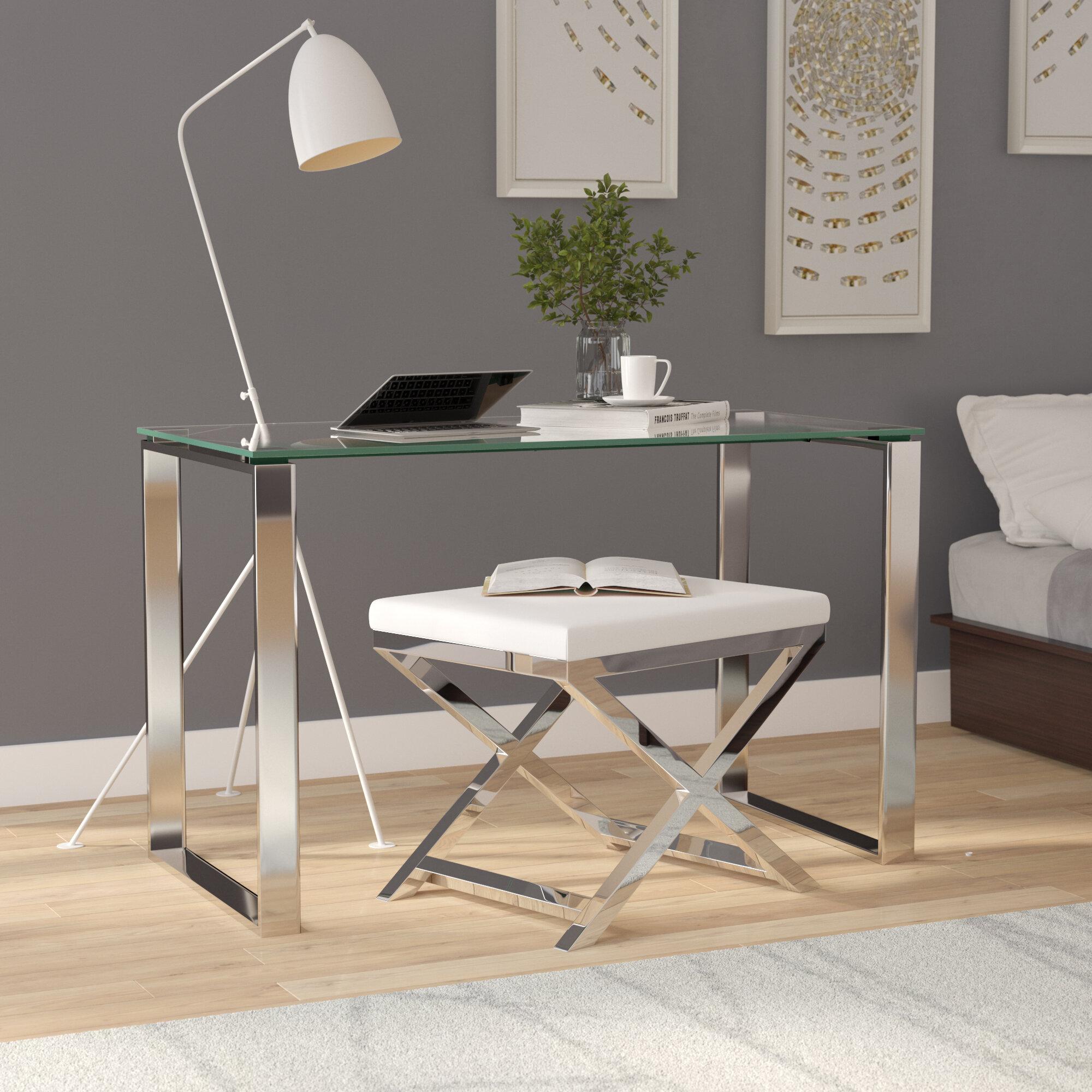 Stainless Steel Desks You Ll Love Wayfair Ca