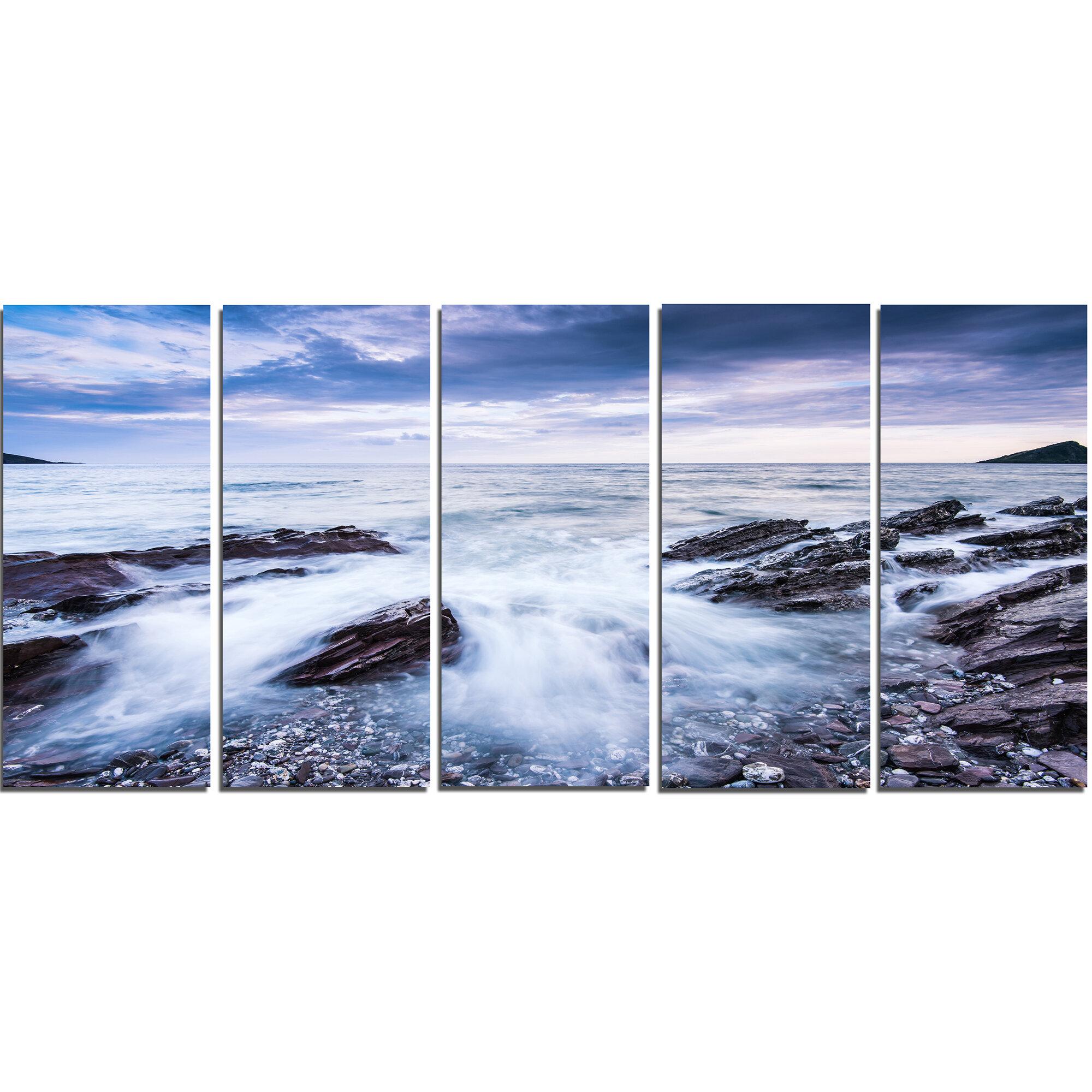 Gift Wave Crashing Beach Decor ~ Vivid Mouse Pad Nature ~ Ocean Water