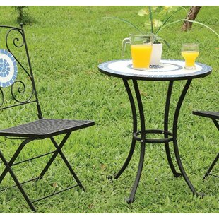 Find for Villarreal Cast Iron Bistro Table Great price