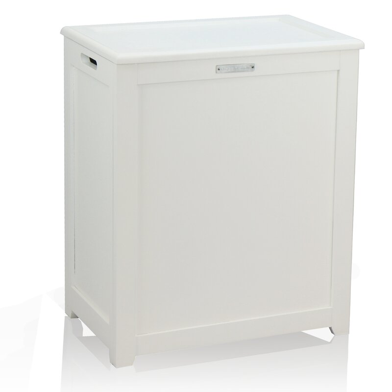 Very Oceanstar Design Storage Cabinet Laundry Hamper & Reviews | Wayfair CI76
