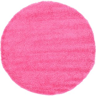 Angeline Pink Area Rug by Turn on the Brights
