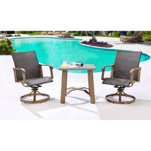 Loon Peak Prager 3 Piece Bistro Set