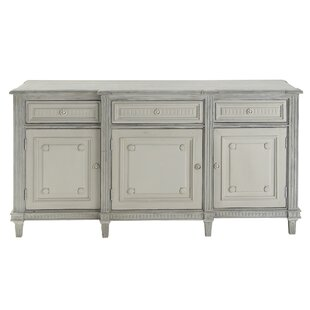 Vicknair Rectangular Pine Wood Buffet Sideboard Ophelia & Co.