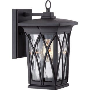 Best Reviews Stoneridge 1-Light Outdoor Wall Lantern By Darby Home Co