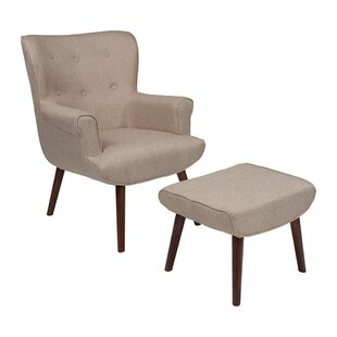 Mize Wingback Chair by Ebern Designs