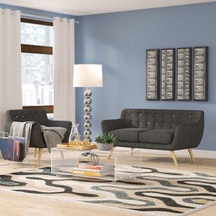 Langley Street Meggie 2 Piece Living Room Set