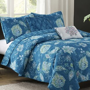 Olatayo 5 Piece Reversible Quilt Set