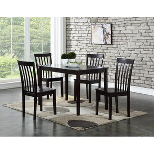 Ralls 5 Piece Dining Set by Gracie Oaks Today Sale Onlyt