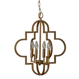 Reidar 4-Light Foyer Pendant