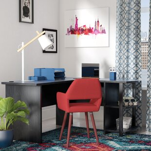 Conkling L-Shaped Writing Desk by Ebern Designs
