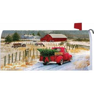 Christmas Truck Mailbox Cover By Custom Decor