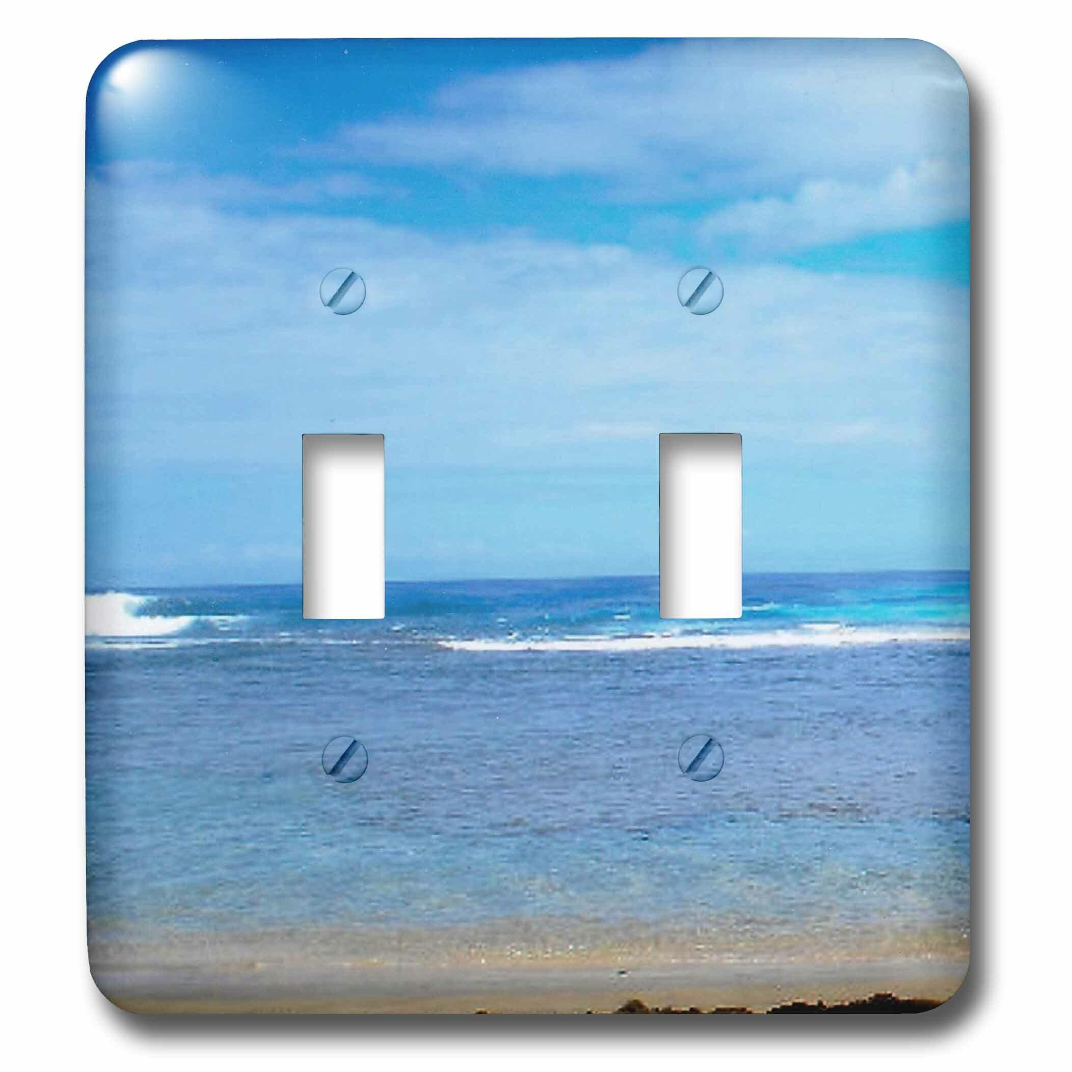 3drose Kauai Coastline Hanalei Bay 2 Gang Toggle Light Switch Wall Plate Wayfair