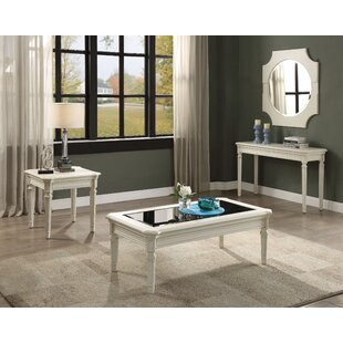 Pinkard 3 Piece Coffee Table Set